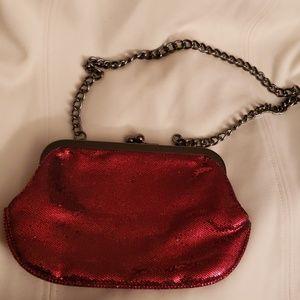 Express Red Evening Bag